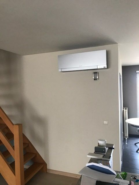 Airco installatie te Eindhout