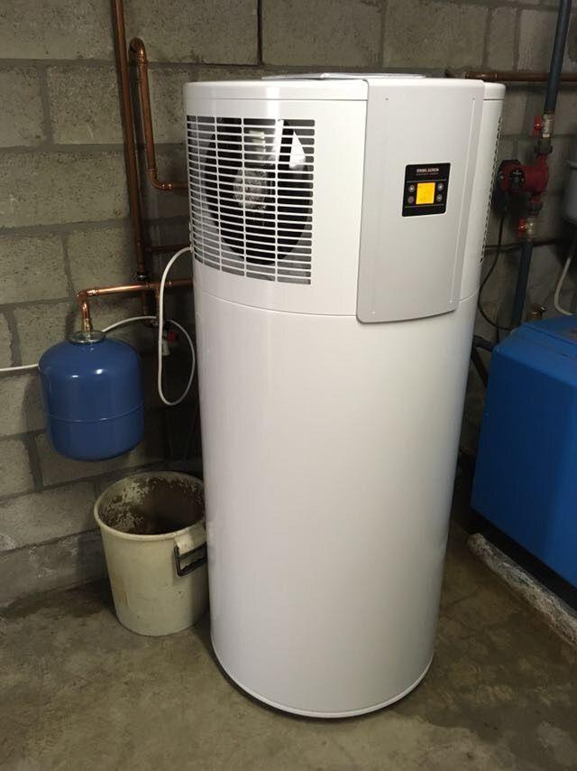 Warmtepomp installatie te Aarschot