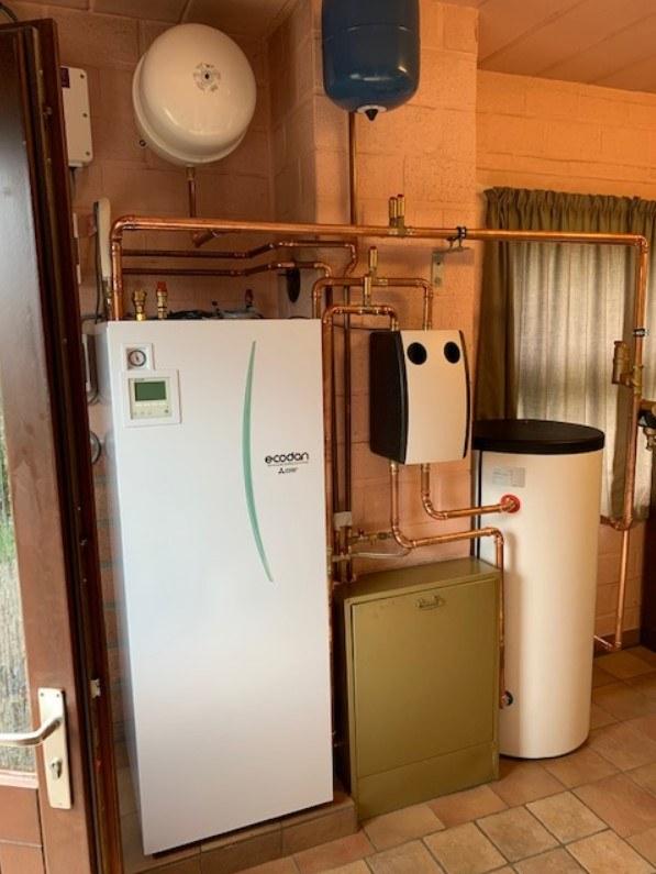 Lucht Water warmtepompen